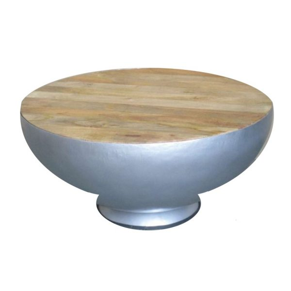 Salontafel Bowl - Zilver - Jeha de Meubelconcurrent