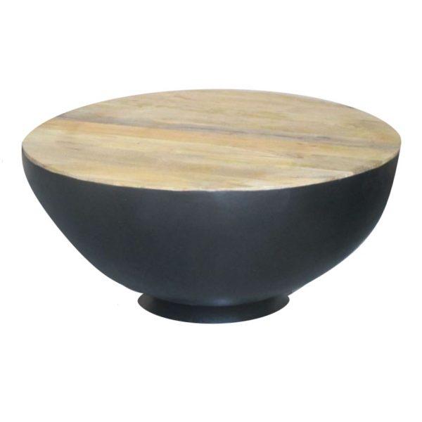 Salontafel Bowl - Zwart - Jeha de Meubelconcurrent